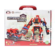 2-en-1 de bricolaje Transformación movibles montadas Universo SUV Robot Bricks (19pcs)
