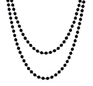 Lureme®8Mm Mot Multifunctional Acrylic Beads Necklace(Assorted Colors)
