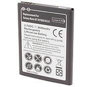Batterie au lithium rechargeable remplace Samsung Galaxy Note GT-i9220 n7000 (3.7v, 2600 mah)