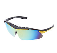 Men's Stylish Sports Semi-Rimless Polarized Sunglasses with UV Protection 9124