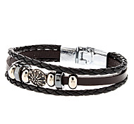 Accessory Elegant Combination Leather Rope Bracelet Jewelry