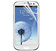 Material PET Samsung Tela Protecter para i9300 (Diamond Film)