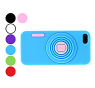 Camera Design Durable Soft Case for iPhone 5/5S (Assorted Colors)