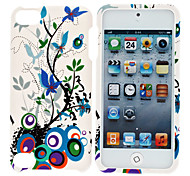Colorful Trees Pattern Hard Case for iPod Touch 5