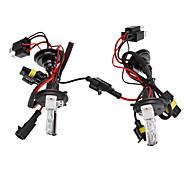 H4-2 Xenon HID de carretera / Halógeno haz de luz baja HID Bombillas luces delanteras del coche Lámpara de (12V-55W, 2-Piece)