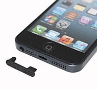 Anti-Dust Earphone Jack With Data Plug for iPhone 5