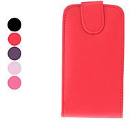 Protective PU Ledertasche für Samsung Galaxy I9000 (verschiedene Farben)