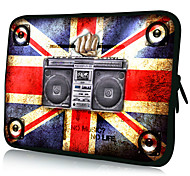 "Radio Pattern 7""/10""/13"" Laptop Sleeve Case for MacBook Air Pro/Ipad Mini/Galaxy Tab2/Sony/Google Nexus 18081"