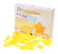 Star 3D Crystal Puzzle (38pcs, Model:9005, Random Color)