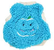 Sonriendo Patrón de Apple Algodón Chaqueta de terciopelo para perros (XS-L, color surtidos)