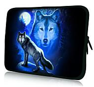 "Lobo Patrón 7 ""/ 10"" / 13 ""Laptop Sleeve Case para el MacBook Air Pro / Mini Ipad / Galaxy Nexus Tab2/Sony/Google 18170"