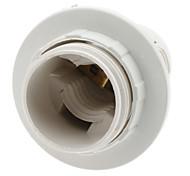 E14 lâmpada soquete suporte da lâmpada (branco)