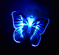Controllable LED Light Butterfly Shaped Fridge Magnet(Random Colors)