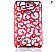 Zircon Howoll Out Pattern Hard Case for Samsung Galaxy Note2 N7100(Assorted Color)