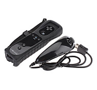 GOiGAME 2-in-1 MotionPlus Remote Controller and Nunchuk for Wii/Wii U (Assorted Colors)