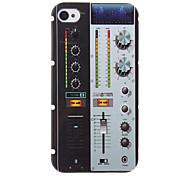 Patrón FM Máquina estuche protector duro para el iPhone 4/4S