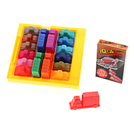 Plastic Traffic Jam Puzzle IQ Car (Model:851548)