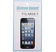HD Screen Protector mit Reinigungstuch für Samsung Galaxy S4 I9500