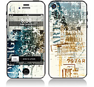 Retro Design Front and Back Full Body Protector Stickers for iPhone 5