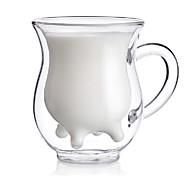 creativo vaca del estilo ubre lanzador crema jarra de doble pared