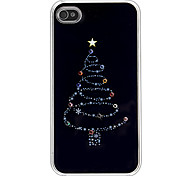 Kerstboom Pattern Hard Case voor iPhone 4/4S