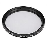 Banner 8 puntos filtro estrella 52mm para Canon, Nikon, Sony y más