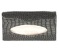 Alligator Pattern High-end Luxury Tissue Box for Cars
