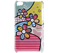 Flower Pattern Hard Case for iPod Touch 4