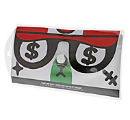 Cartoon Triangular Rule Protractor Rulers Set Portable Package (Random Color)
