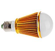 E26/E27 7 W 7 High Power LED 570 LM Natural White A Globe Bulbs AC 85-265 V