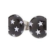 10 mm il simbolo stelle inox Orecchini in acciaio