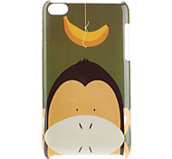Monkey Pattern Hard Case for iPod Touch 4