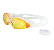 Unisex Anti-Fog & UV Protective Waterproof Plating Swimming Goggles RH7110M (Assorted Color)