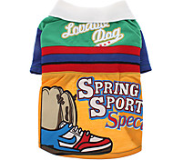 Spring Sport Specials Pattern Shirt for Dogs (Assorted Color,XS-XL)