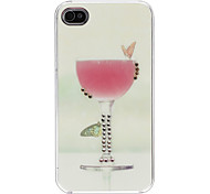 Goblet Pattern Hard Case voor iPhone 4/4S