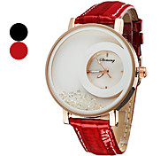 Women's Wrist Style Quartz PU Analog Watch (Assorted Colors)