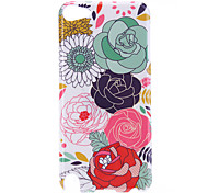 Big Flower Pattern Protective Hard Case for iPod Touch 5