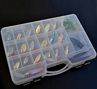 cebos duros cebos blandos / / metal pesca cebos señuelo conjunto (138 piezas)