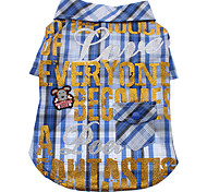 Super Star Style Plaid Pattern Shirt for Dogs (Assorted Color,XS-XL)