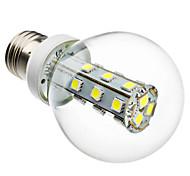4W E26/E27 LED Kugelbirnen G60 21 SMD 5050 280 lm Natürliches Weiß AC 220-240 V