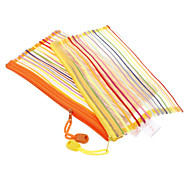 Rainbow Style Textile with Lifting Rope A6-2/1 Folders (Random Color)