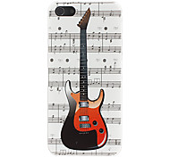 Music Score Pattern Hard Case for iPhone 5/5S