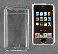 Transparent Crystal Protective Plastic Hard Case for iPod Touch 4TH