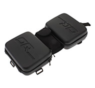 OQ Sports EVA Anti-collision Waterproof Bicycle Beam Saddle Tube Bag(Black)
