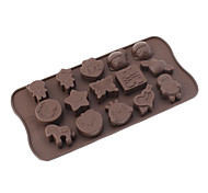 Kid Doll Theme Silicone Chocolate Mould