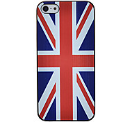 UK Flag Pattern Hard Case for iPhone5