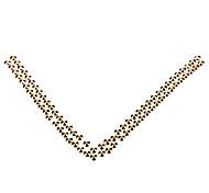 10 millimetri conici in metallo Pallidi Rivetti giallo dorato * 100