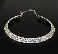 Silber Halsketten Party Schmuck