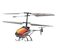3.5-Channel Amarillo helicóptero teledirigido infrarrojo (pila de botón)