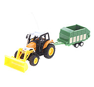 5 Channel Orange Remote Control Farmer Bulldozer